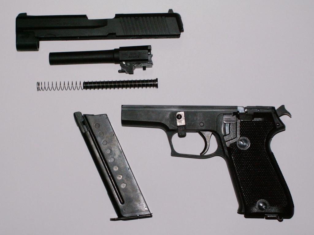 タナカ 9mm拳銃 SIG SAUER P220 その4: 偶数日のエアガンライフ